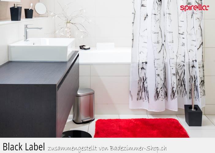 Badezimmer Shop - Badteppich - Duschvorhang - Spirella