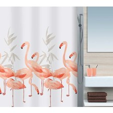 Flamingo Fenstervorhang