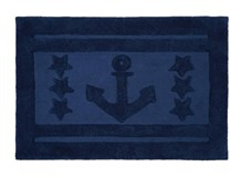 Teppich Anchor Star Navy