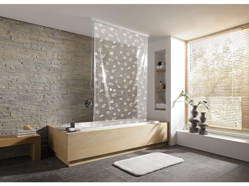 kleine wolke duschrollo vorhang duschrollo vorhang badezimmer. Black Bedroom Furniture Sets. Home Design Ideas