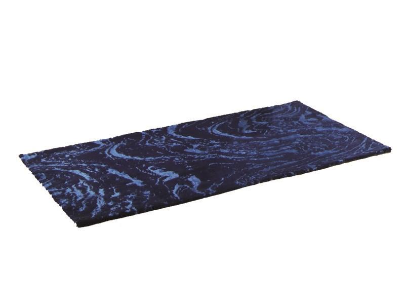 Kleine Wolke Badteppich Badteppich 60 X 90 Cm, Dunkelblau