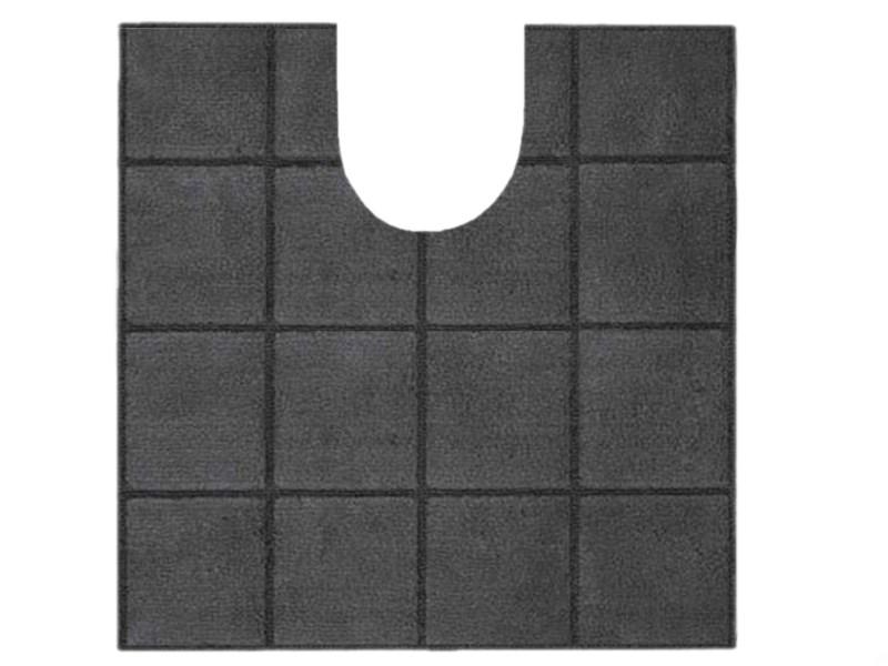 Spirella Badteppich Tile Granit WC 55 x 55 cm mit WC