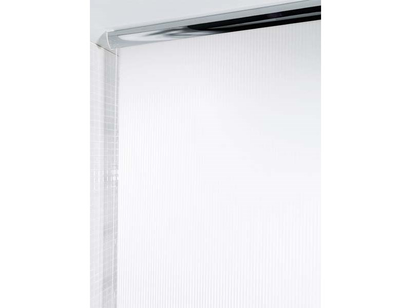 spirella duschvorhang rolo twill white plastik 140 x 240. Black Bedroom Furniture Sets. Home Design Ideas