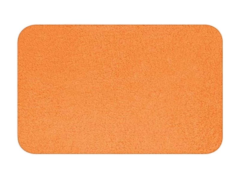 spirella badteppich fury orange 50 x 80 cm orange fury badezimmer. Black Bedroom Furniture Sets. Home Design Ideas