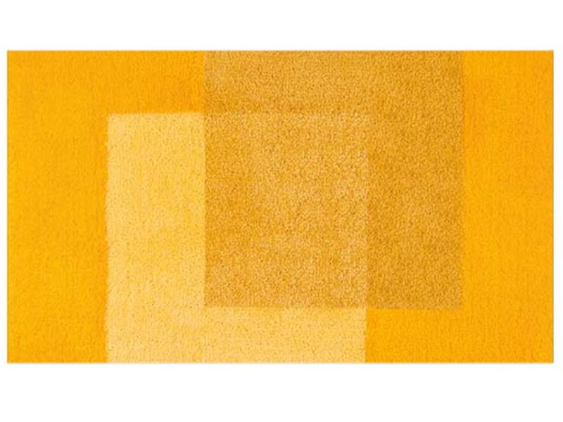 Spirella Teppich Crossover Yellow 70 x 120 cm, Gelb