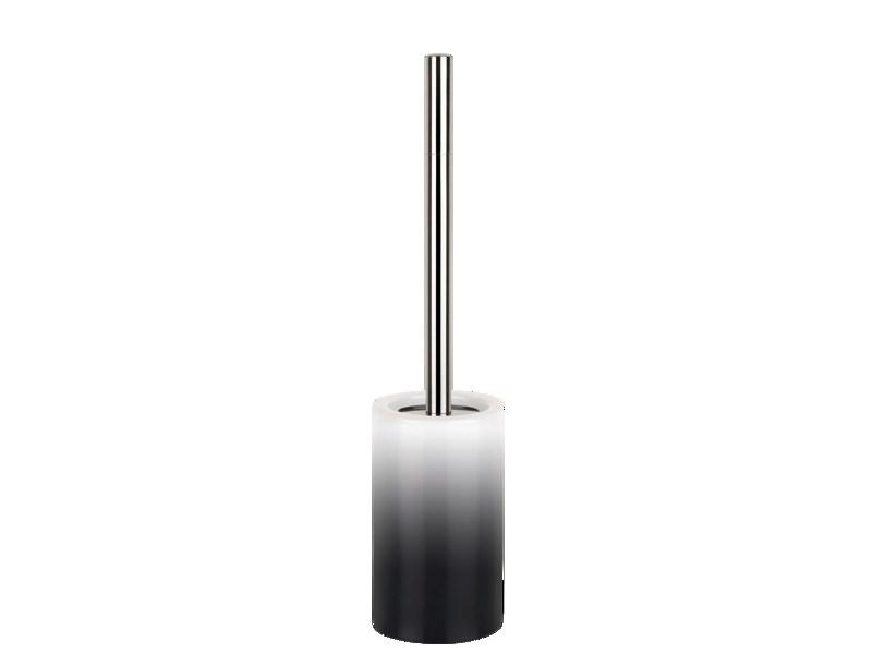 zubeh r f r spirella wc b rstengarnitur tube gradient black schwarz tube gardient badezimmer. Black Bedroom Furniture Sets. Home Design Ideas
