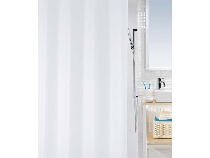 spirella duschvorhang bio white plastik 120 x 200 cm. Black Bedroom Furniture Sets. Home Design Ideas